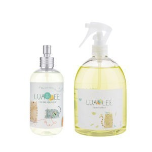 Colonia y home spray Lua&Lee