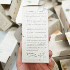 Caja compostable Lua&Lee