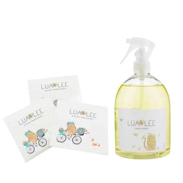 Home Spray con 3 sachets Lua&Lee