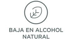 Baja en alcohol Natural