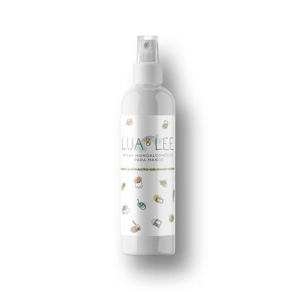 Spray hidroalcohólico para niños
