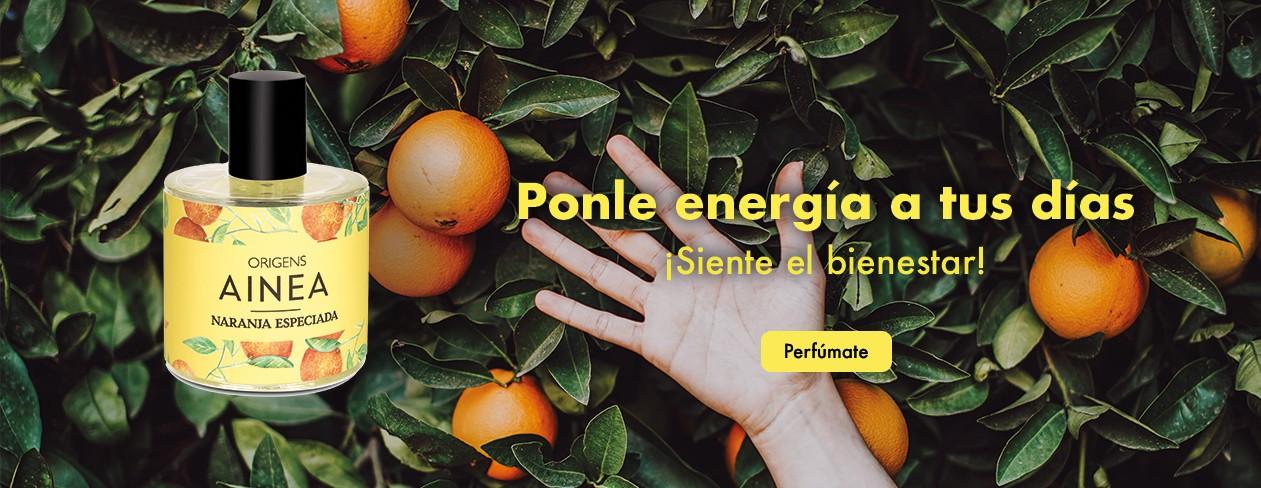 origens naranja ainea perfums